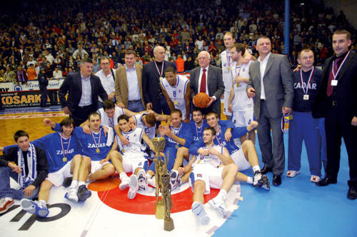 2006. i 2007. KK Zadar Kup Kreše Ćosića